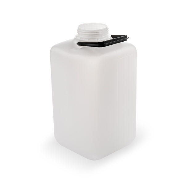 Viereckflasche 10 Liter natur