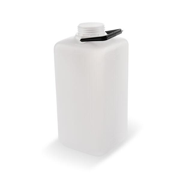 Viereckflasche 12 Liter natur