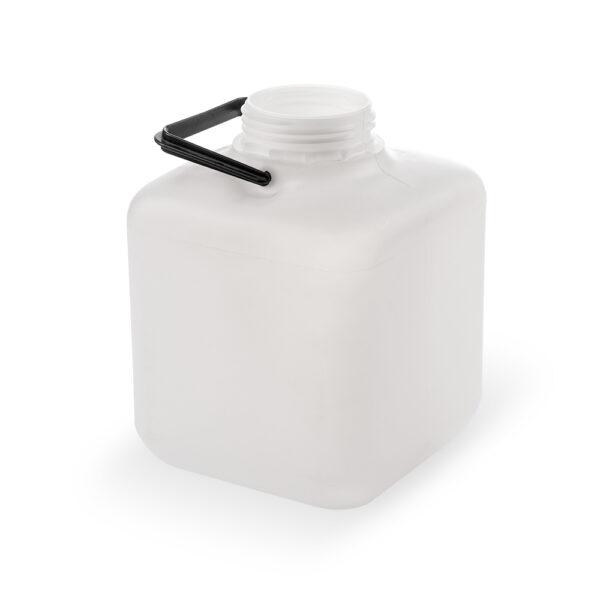 Viereckflasche 6 Liter natur